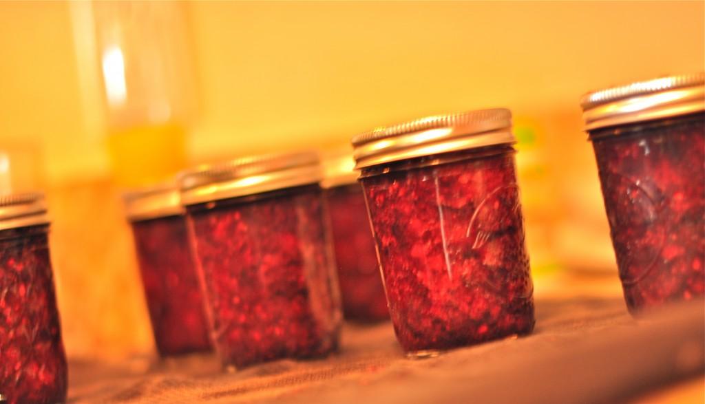 sunshine canning | mixed berry jam