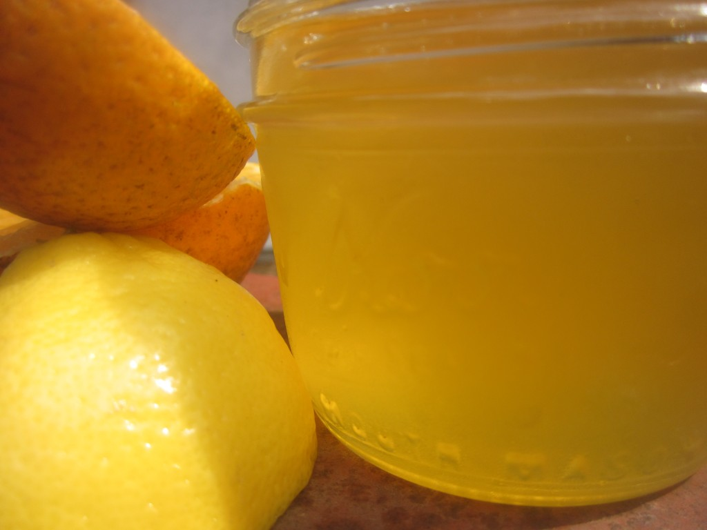 sunshine canning | mimosa jelly